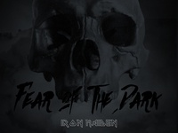 """Fear Of The Dark"" Iron maiden tribute poster"