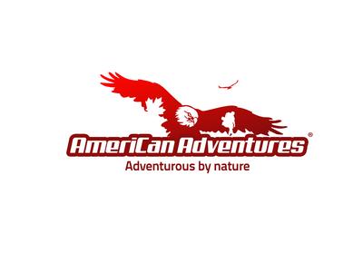 American Adventure Logo typography design illustration artdirection eagle american logo logodesign