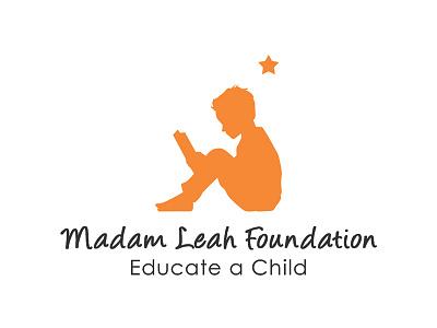 Mme Leah Foundation Logo logotypedesign logotype typography illustration design artdirection foundation logodesign logo