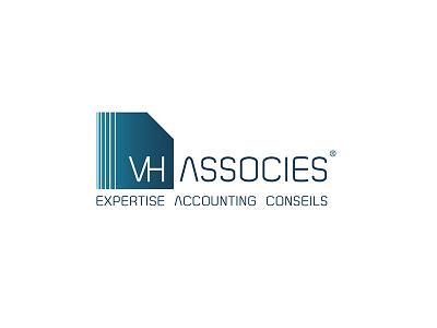 Vh Associes Logo logotype logotypedesign typography illustration design artdirection finances accounting logodesign logo