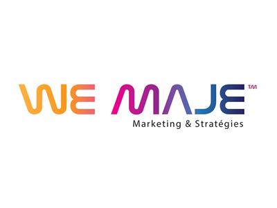 We Maje Logo logotypedesign logotype typography illustration design artdirection branding logodesign logo