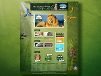 Belgrade zoo website homepage