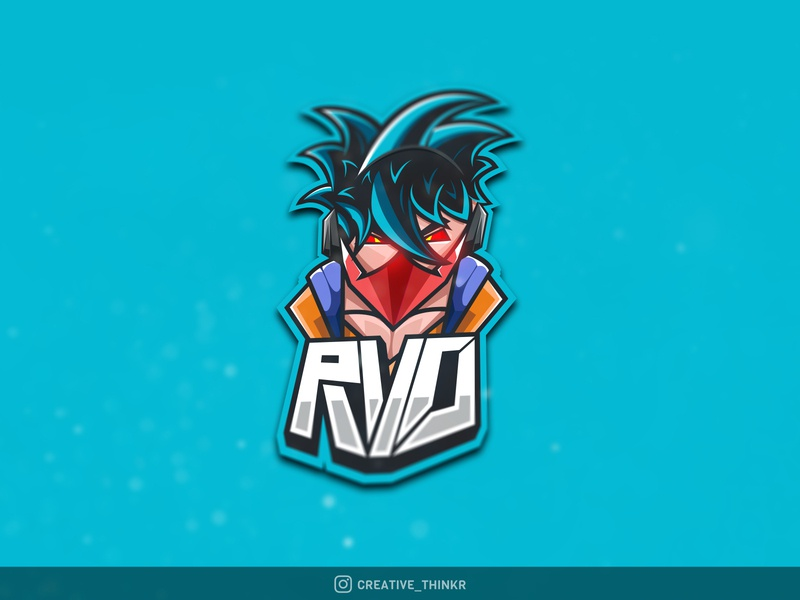 RVO Gaming eSports Logo graphicdesign idenity branding creative logo vector vectorart illustraion illustrator typogaphy logo logos gaming mascotlogos mascot logo mascot esports esportslogo gaming logo gaminglogo