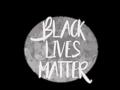 Black Lives Matter justice racism protest blm logo illustration design