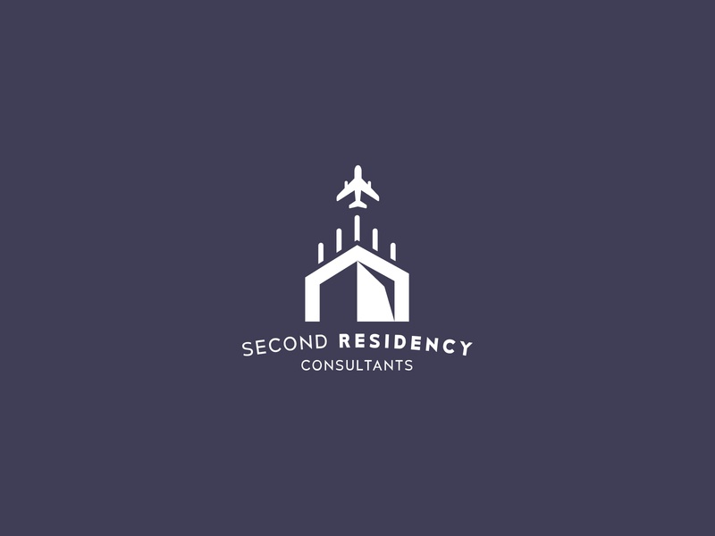 Second Residency Consultants logotype graphicdesign minimal minimalist simple logo icon agency logo logomark logo logodesign