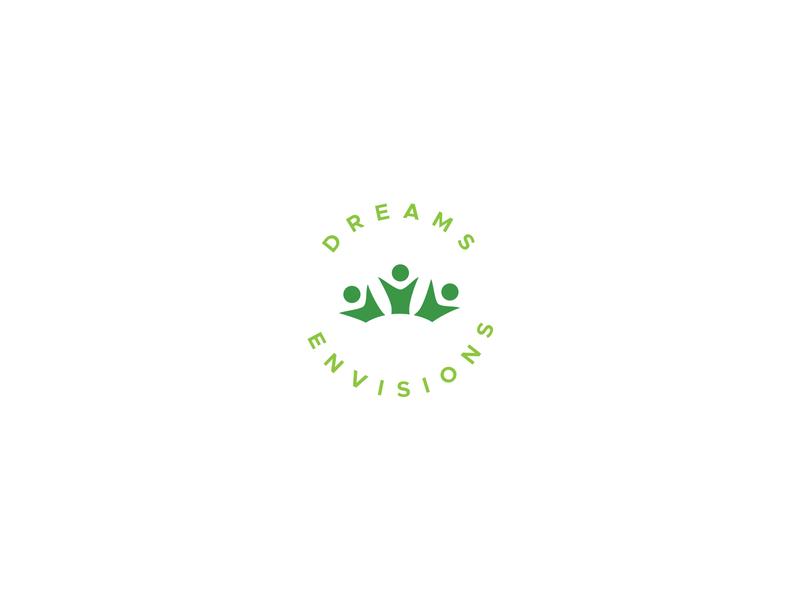 Dreams Envisions Logo circular minimalism minimalist logo design minimal logofolio graphicdesign business branding design illustration simple logo logotype minimalistic logodesign logo