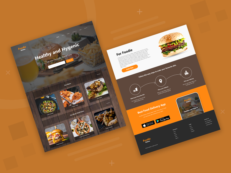 Food Order WebPage Design uidesign onlinefooddelivery foodorder appmockup webdesign animation prototype uiux websitedesign nepali dribbbleshot nepal aroonanim graphicdesign webpage photoshop adobexd