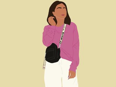 Minimal illustration minimalistic illustration digital