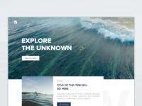 Surf App - Website version