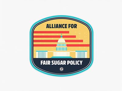 Badge halftone texture illustration badge