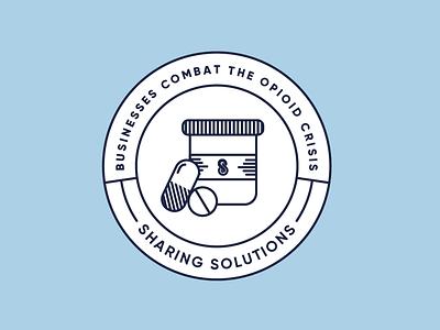 Badge line art line icon badge icon illustration