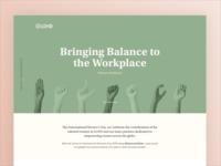 Women's Day - Balance for Better