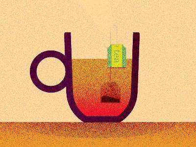 tea time tea time tea bag cross section geometric