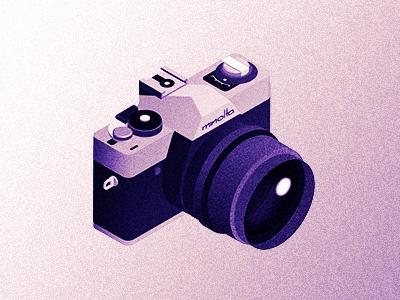 XG-1 isometric minolta camera film