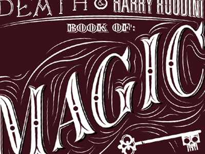 Magic! type custom typography