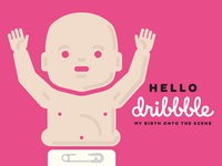 Kerry Layton Dribbble Baby