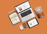 360 Nutrition - Branding, Packaging & Web Design idenity web design package design ecommerce food and beverage brand design graphic design creative direction art direction