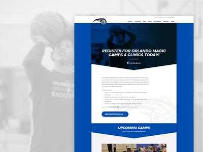 Orlando Magic Camps layout web camps nba magic orlando