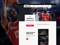 NBA Live 18 Redesign