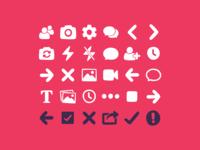 Warptalk Icon Set
