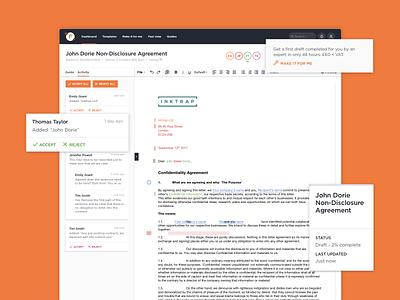 Farillio digital product white web ui interface flat digital design clean orange app