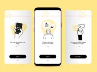 Day 01 UI Challenge onboarding ui designs challenge dailyui app ux ui design 10ddc