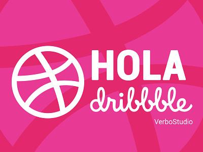 Hola Dribble inspiration happy verbostudio dribbble design