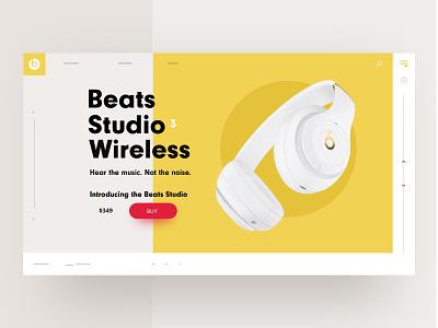 Headphone UI - Serie layout grid graphic design ui headphones e-commerce fashion beats