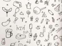 Analog Food Icons