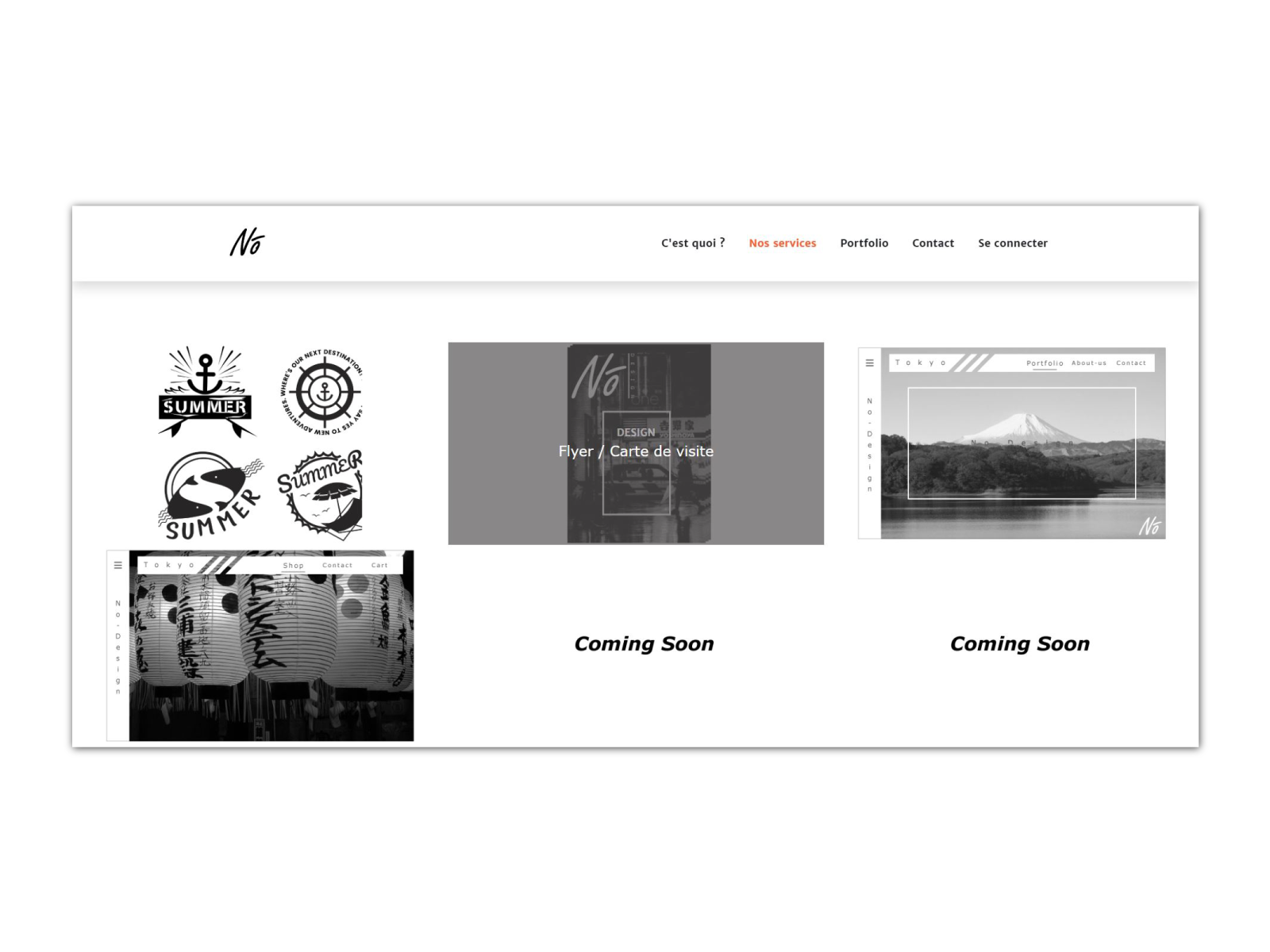 Web Design Nodesign By Florian Bique On Dribbble