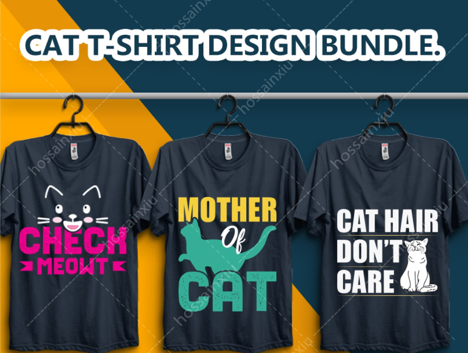 New Cat T Shirt Design By Amzad On Dribbble