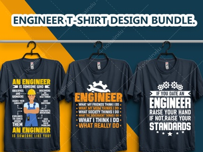 This is My New Engineer T Shirt Design