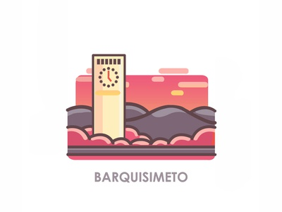Venezuelan Cities; Barquisimeto illustrations illustration art illustration city logo icon illustration icon logo icon city icon city illustration cityscape city venezuelan venezuela barquisimeto