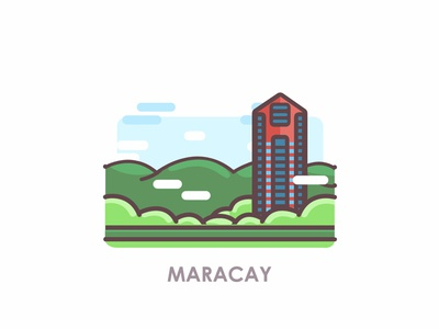 Venezuelan Cities: Maracay building illustration building icon building logo illustration design illustration art illustrations illustraion icon illustration icon city icon city logo city illustration cityscape city venezuelan