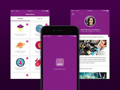 Articles App contents app photoshop uiux ux design ui design user interface ux ui story app articles app mobile app