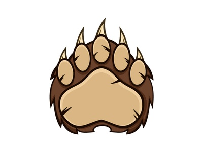 how to draw a bear claw