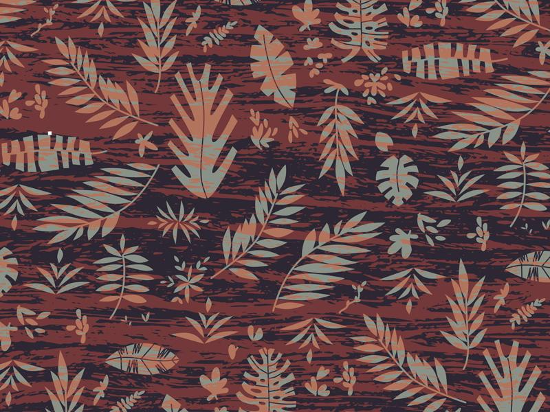 Tiki Pattern 2 By Jaz January