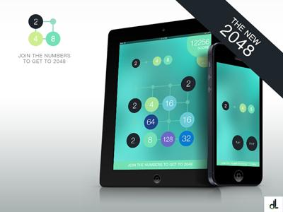 2048 App Design new 2048 2048 ios game design