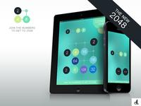 2048 App Design