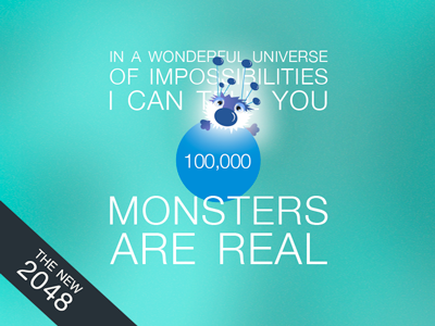 The New 2048 - Monsters Are Real thenew2048 2048 monsters