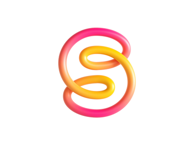 Saleloop 3D logo colorflow animation endless colourful loop branding 3d animation logo c4d render motion design animation 3d