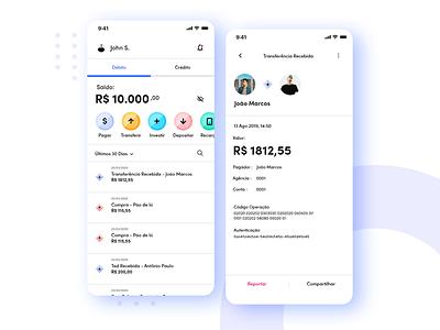 Bank App app web móbile designer ui design