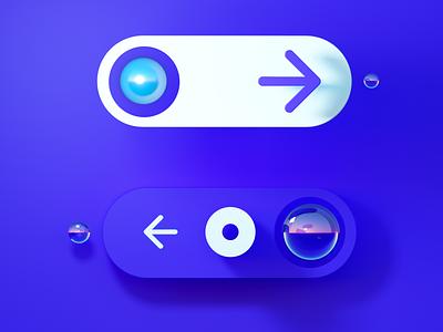 Ui octane render 3d animation ux design illustration 3d artist 3d art c4d cinema 4d otoy octane 3d logo branding redesign ui