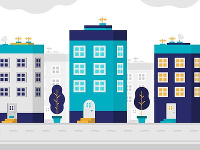 Building vector predios buiding adobe illustrator design