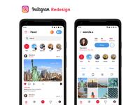 Instagram Redesign (Concept)
