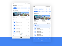 File Explorer Material Design