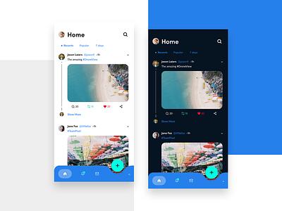 Twitter Redesign adobe adobe xd design userinterface ux ui redesign twitter
