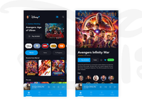 Disney Plus Mobile Redesign