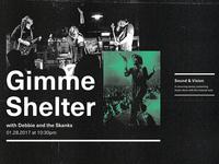 Sound & Vision // Gimme Shelter