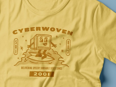Rebound: Cyberwoven Shirt shirt design shirt texture hand drawn illustration surf the web surfing computer